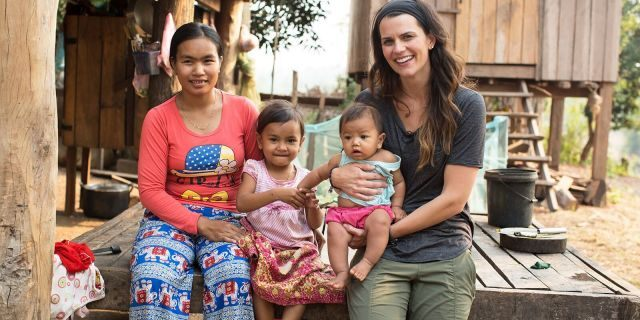 Cissie Graham Lynch meets moms in Cambodia and learns about the challenges they face each day.
