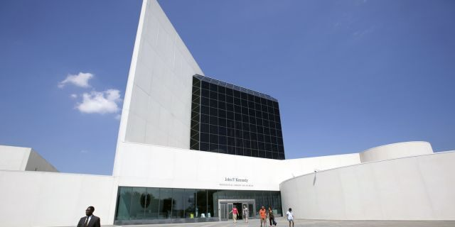 The John F. Kennedy Presidential Library and Museum in Boston. (AP Photo/Steven Senne, File)