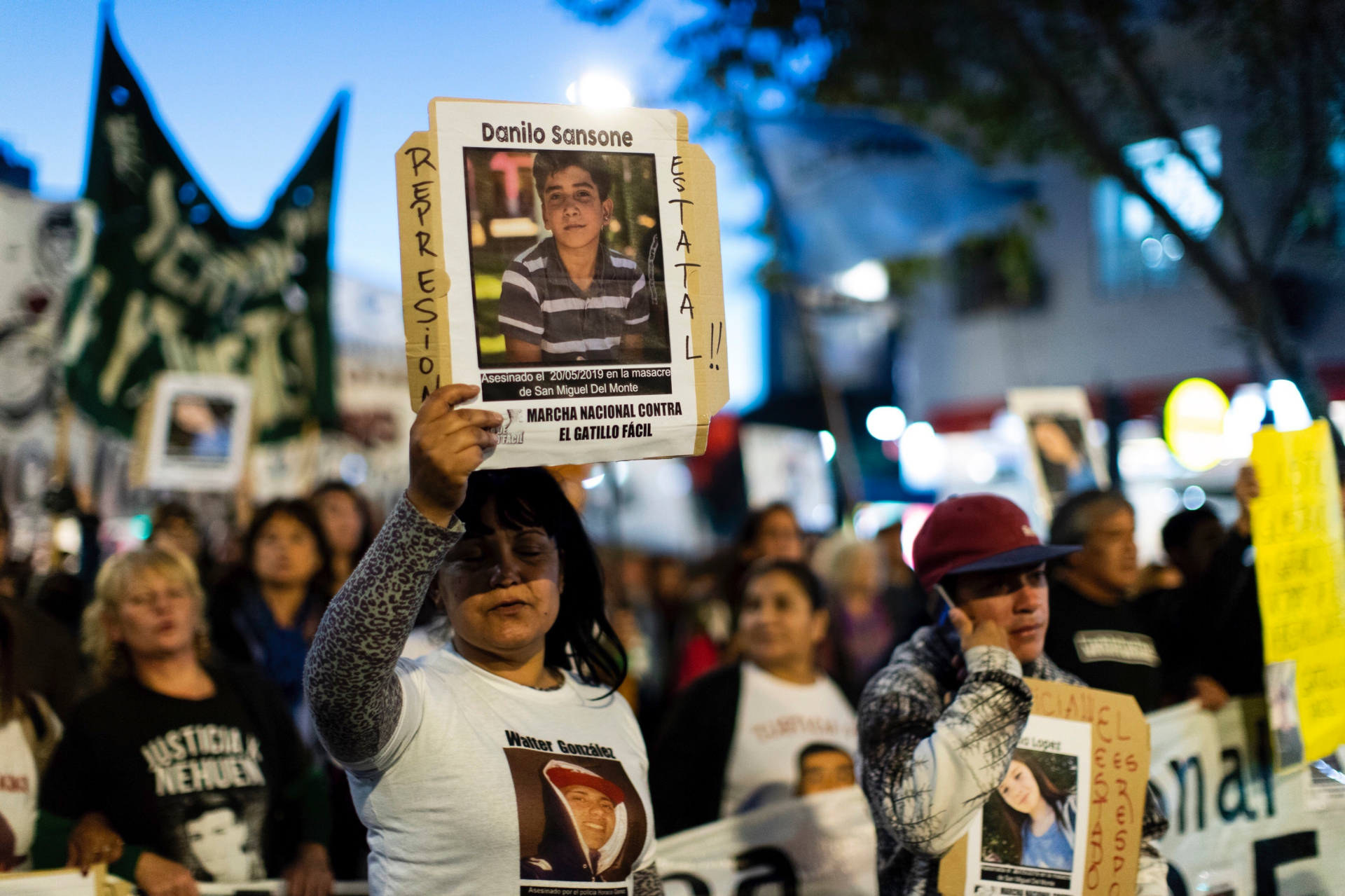 Argentines want justice after police car chase leaves 4 dead