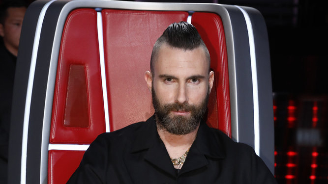 Blake Shelton, Kelly Clarkson, and John Legend react to Adam Levine's sudden 'The Voice' exit
