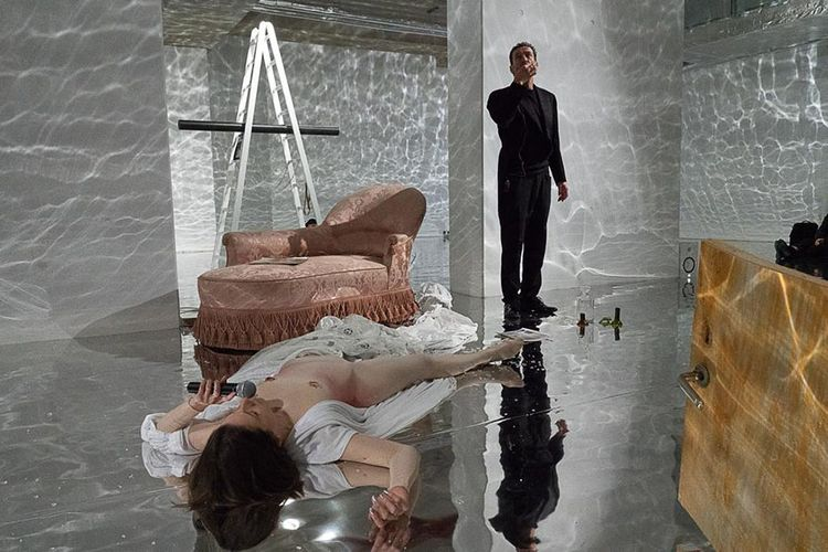 Block Universe launches with reflective performance by Sophie Jung