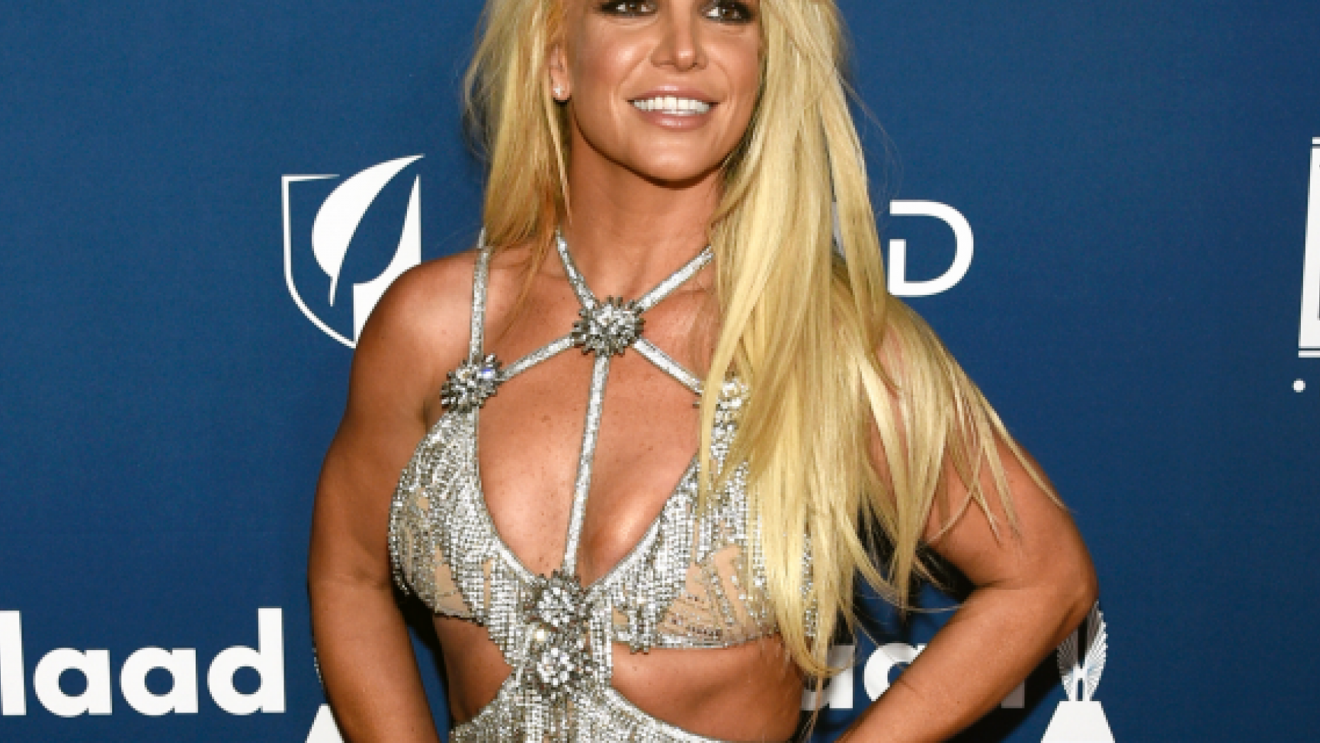 FILE - In this April 12, 2018 file photo, Britney Spears arrives at the 29th annual GLAAD Media Awards in Beverly Hills, Calif. (Photo by Chris Pizzello/Invision/AP, File)