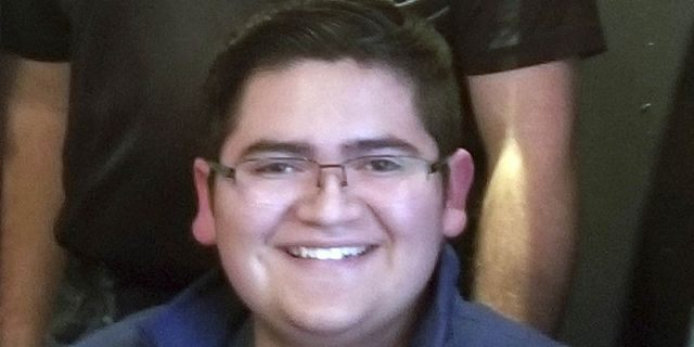 """Kendrick Castillo, 18, died on Tuesday during a school at the STEM School Highlands Ranch in Colorado.<br data-cke-eol=""""1"""">"""