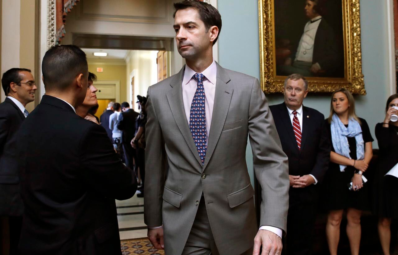 Cotton says America would win war against Iran in 'two strikes'