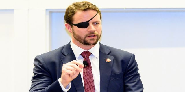 Congressman Dan Crenshaw served as a Navy SEAL from 2006 to 2016.