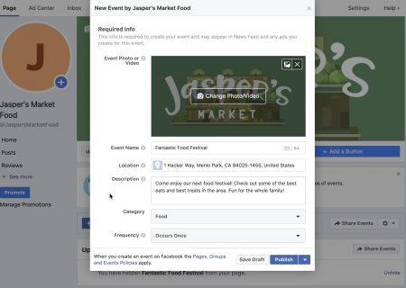 Facebook Teamed Up With Eventbrite on a Ticketing Distribution and Sales Feature for Pages – Adweek
