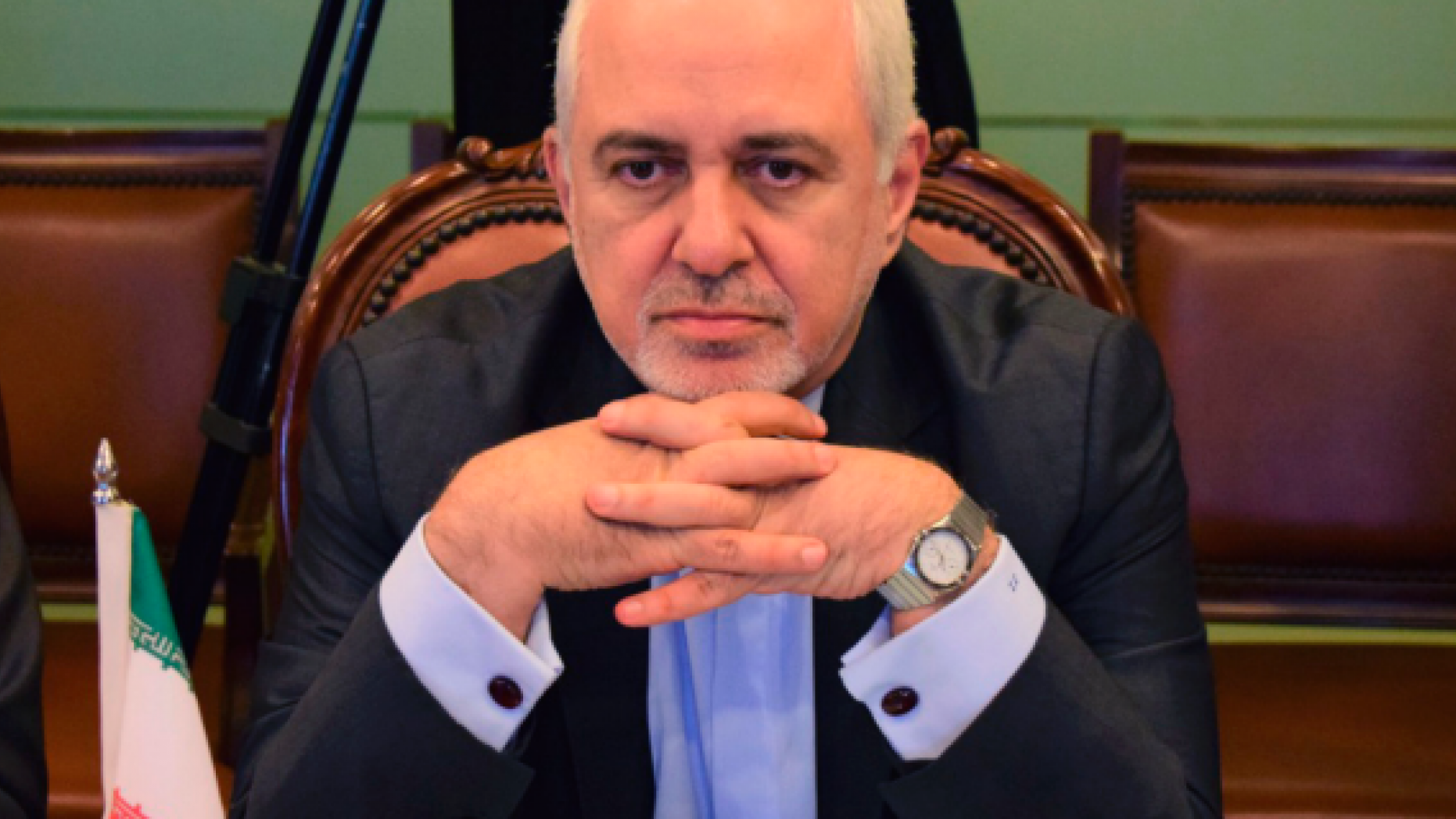 In this photo released by the Foreign Office, Iranian Foreign Minister Mohammad Javad Zarif, attends meeting with Pakistani officials at the Foreign Ministry in Islamabad, Pakistan, Friday, May 24, 2019. Zarif is in Pakistan Friday on a critically timed visit amid a crisis between Tehran and Washington and ahead of next week