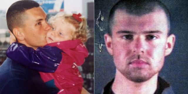 """Johnny """"Mike"""" Spann with daughter Alison, who was the first American killed in the Afghanistan war soon after interviewing """"American Taliban"""" John Walker Lindh."""
