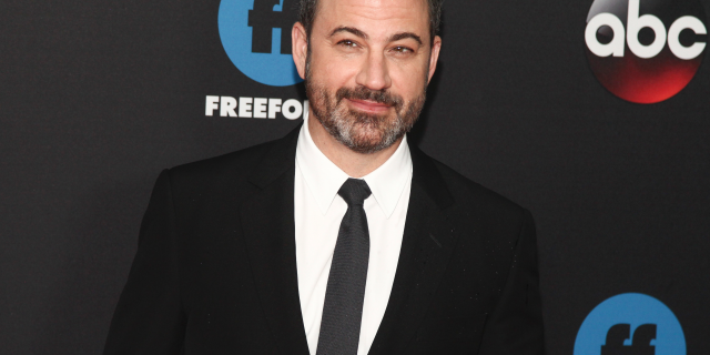 Jimmy Kimmel, shown at a party in New York City, May 15, 2018, addressed Dems