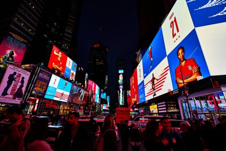 Nike Took Over Times Square to Salute the U.S. Women's National Team – Adweek