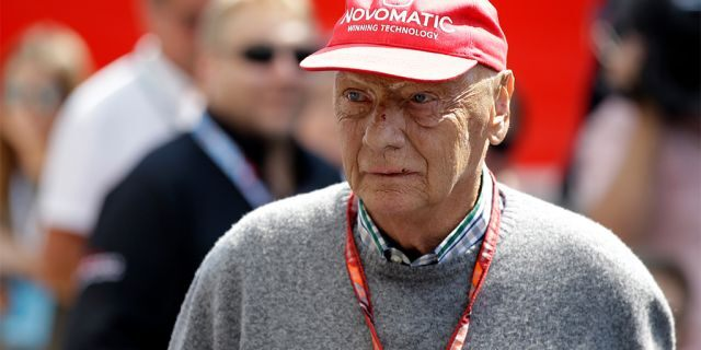 Three-time Formula One world champion Niki Lauda, who won two of his titles after a horrific crash that left him with serious burns and went on to become a prominent figure in the aviation industry, has died. He was 70. (AP Photo/Luca Bruno, File)