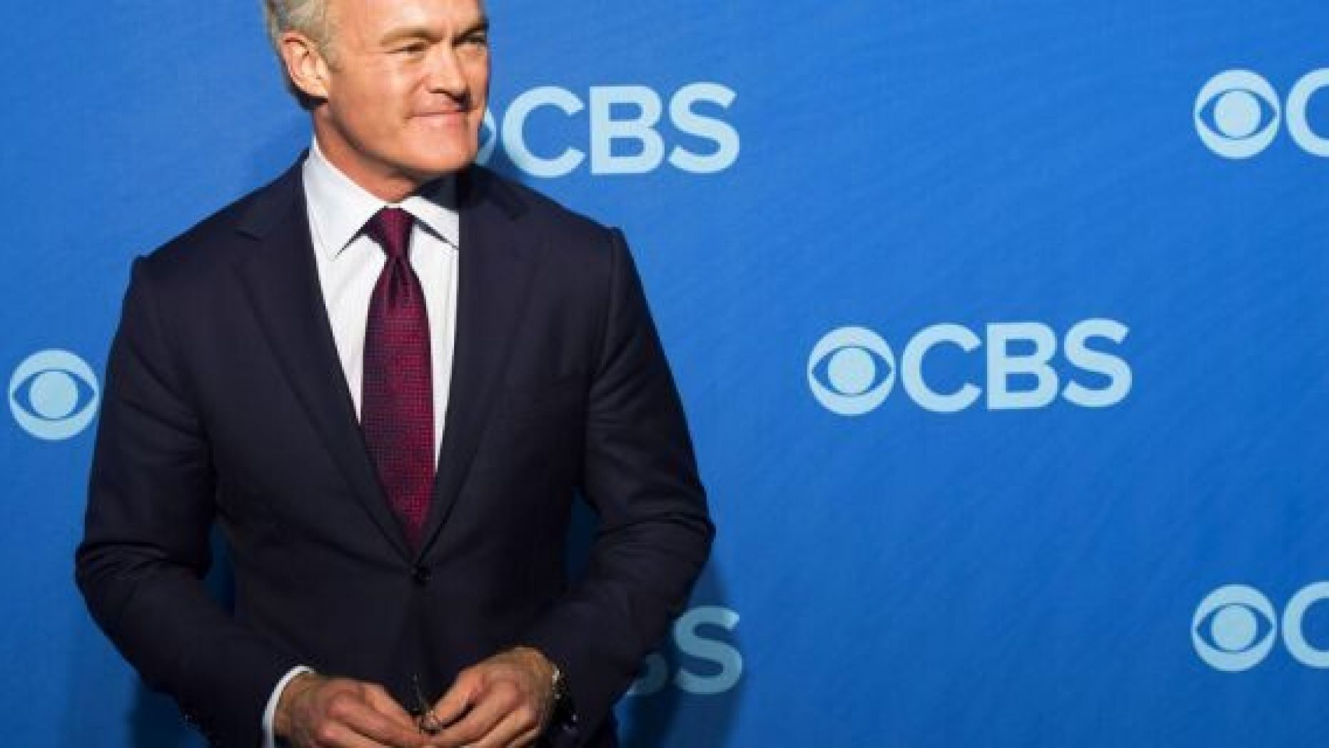 FILE: Scott Pelley attending the CBS Upfront in New York.