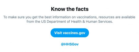 Twitter Is Directing People Who Search for Vaccine Keywords to 'Credible Resources' – Adweek