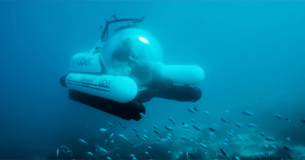 Uber Has Launched a Rideshare Submarine, and Yes, It's Called scUber – Adweek