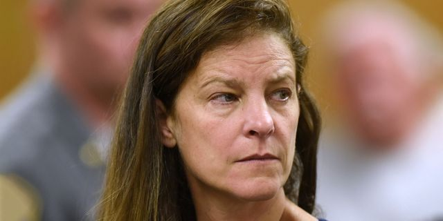 Michelle C. Troconis was arraigned on charges of tampering with or fabricating physical evidence and first-degree hindering prosecution at Norwalk Superior Court in Norwalk, Conn. Monday, June 3.
