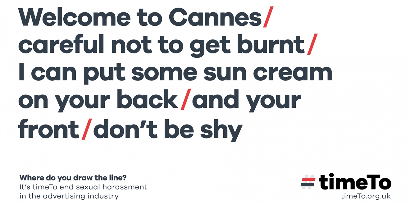 A Global Campaign Against Sexual Harassment Will Await Cannes Goers at the Airport – Adweek