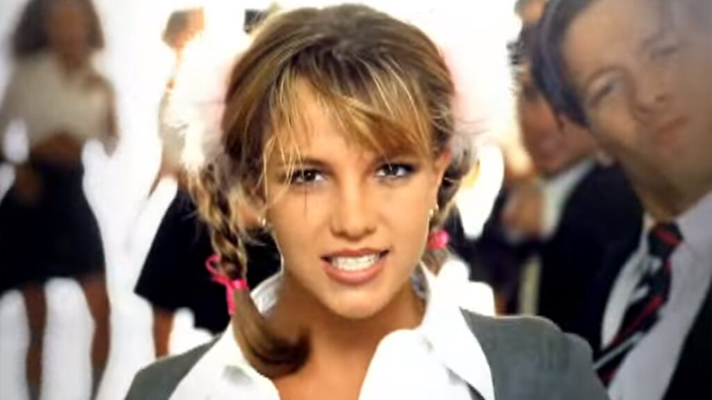 Britney Spears gives off strong '…Baby One More Time' vibes in throwback schoolgirl outfit