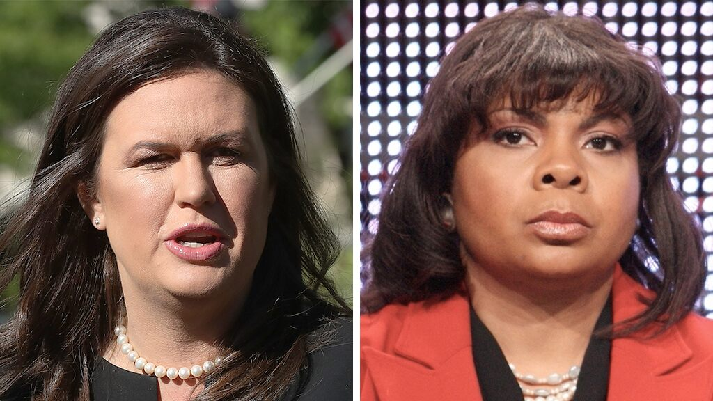 CNN's April Ryan hits Sarah Sanders on her way out, saying she 'could not face the heat'