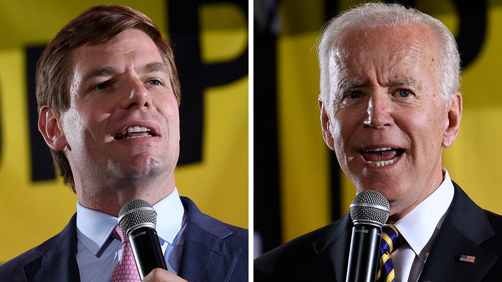 Eric Swalwell swipes at Biden's age: I'll be a president that will 'actually have to live with the decisions I make'