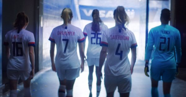 From Injuries to Ice Baths, Visa Honors the Hard Work of the US Women's Soccer Team – Adweek