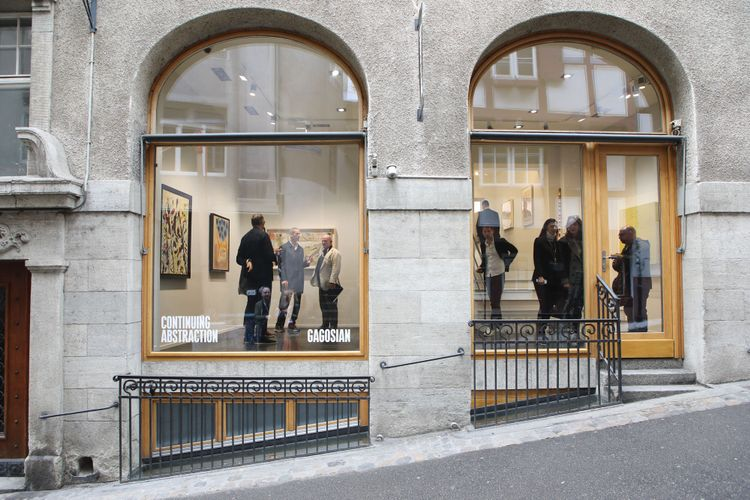 Gagosian's pop-up gallery in Basel to become permanent