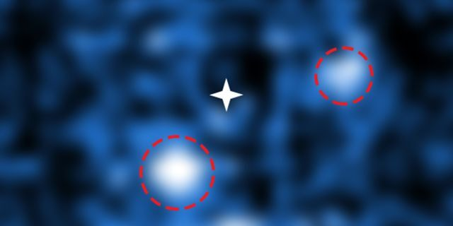 Exoplanets PDS 70 b and c (ESO and S. Haffert ([Leiden Observatory])