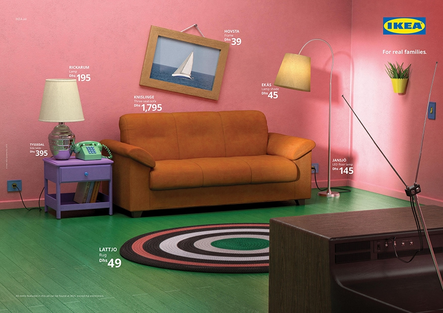 How Ikea Recreated Famous TV Living Rooms, Boosting Traffic to Its Products by 50% – Adweek
