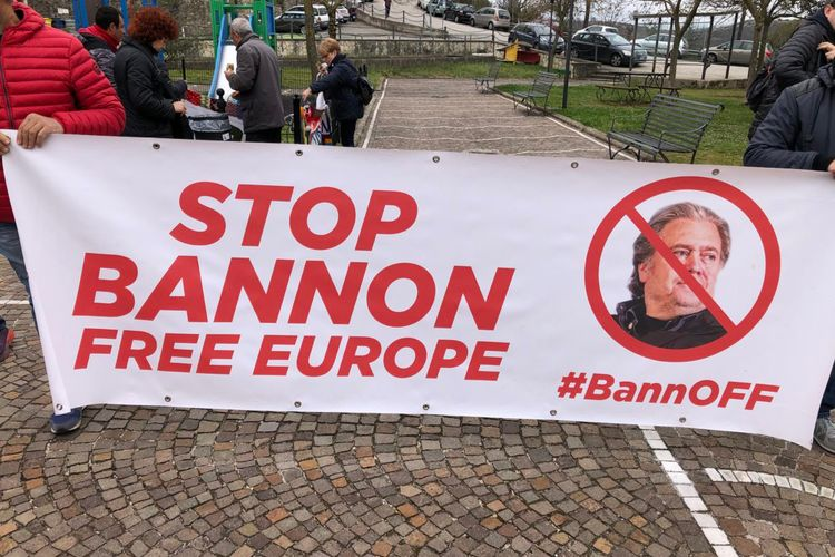 Italy blocks Steve Bannon's plans for nationalist bootcamp in medieval monastery