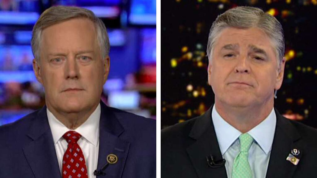 Mark Meadows: Russia investigation's origins 'built on a foundation of sand'