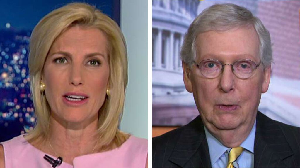 Mitch McConnell: 'For the first time in my memory, I agree with Nancy Pelosi'