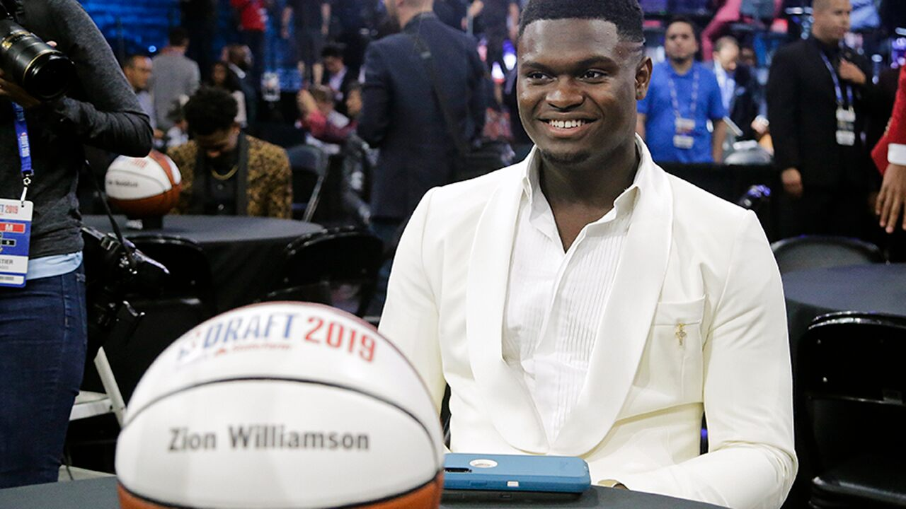 NBA Draft 2019: New Orleans Pelicans pick Zion Williamson first overall