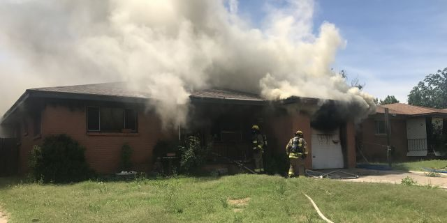 A condemned home on Becker Place was allegedly set on fire on June 10 by an angry neighbor.