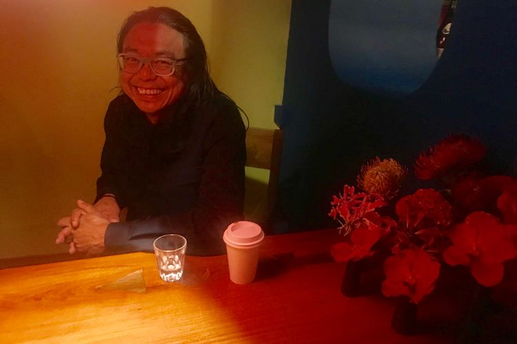 Rikrit Tiravanija offers cups of sake and space for contemplation at the ICA