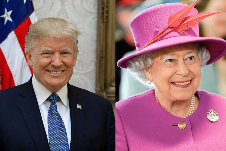 Show and tell: what art did the Queen show Donald Trump?