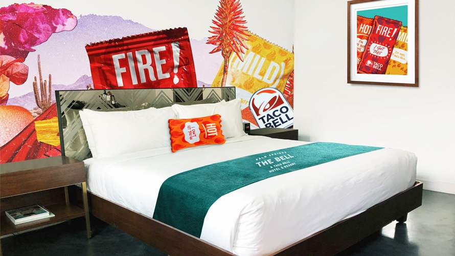 Taco Bell Reveals the First Photos of Its Palm Springs Resort—and They're Very on Brand – Adweek