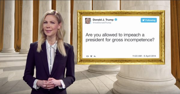 The Daily Show Buys Ads on Fox News in DC Inviting Trump to Its Presidential Twitter Library – Adweek
