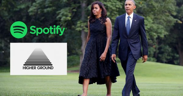 The Obamas' Production Company Is Partnering With Spotify to Make Podcasts – Adweek