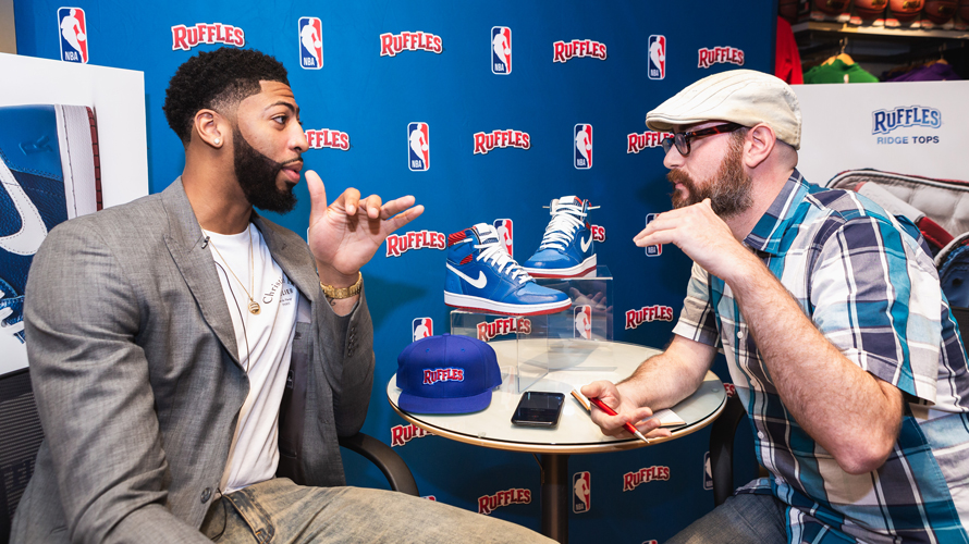 Tough Questions for NBA's Anthony Davis – Adweek
