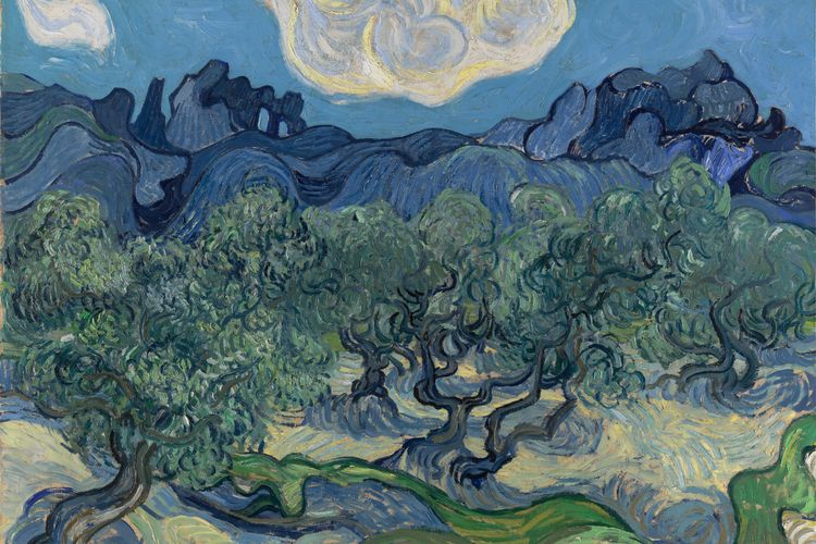 Van Gogh's astonishing week in the asylum, 130 years ago—when he painted an olive grove and a starry night