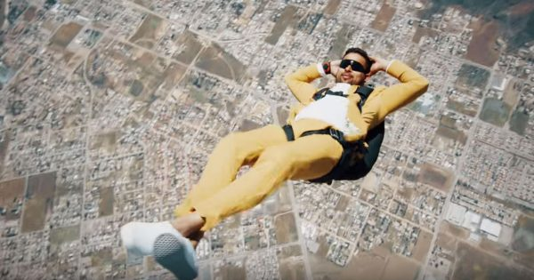 Wix's New Web Series Features a Skydiving Fashion Show and Parkour in an Airplane Graveyard – Adweek
