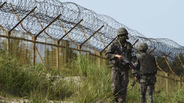 'Unidentified' object reported over DMZ, South Korea says
