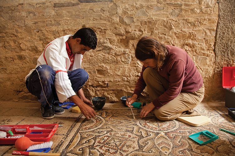 A Getty lifeline for classical mosaics in the Middle East and North Africa