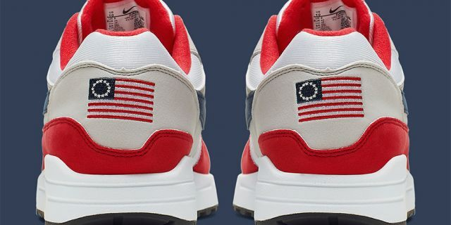"""Nike has chosen not to release the Air Max 1 Quick Strike Fourth of July as it featured the old version of the American flag,"" a spokeswoman reportedly said."