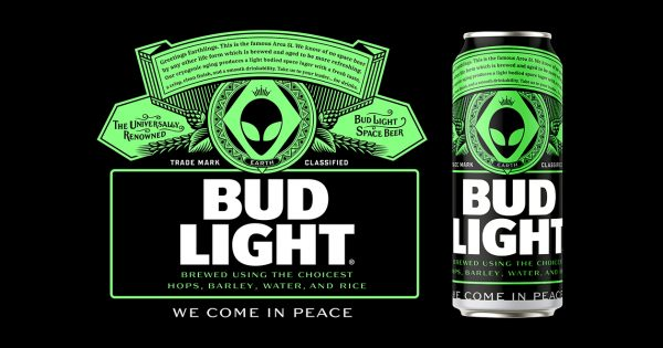 Bud Light's 'Area 51' Can Design Began as a Joke, but Now Might Become Real – Adweek