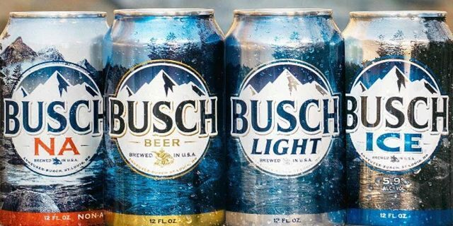 The hidden pop-up goes along with Busch Beer's partnership with the National Forest Foundation.
