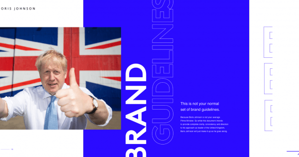 Huge London Created a Satirical Set of Brand Guidelines for UK Prime Minister Boris Johnson – Adweek