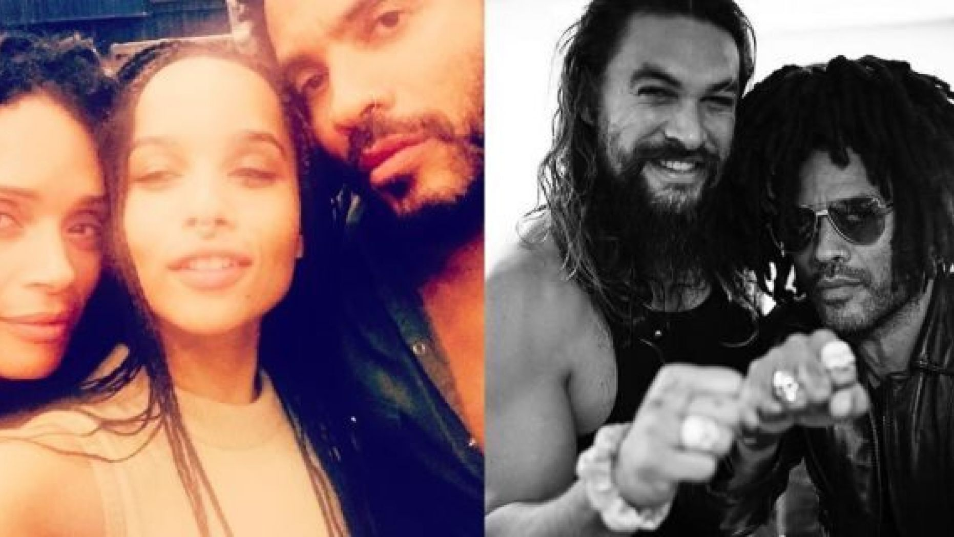 Lenny Kravitz Says Ex Wife S Husband Jason Momoa Is Like A Brother Praises Beautiful Blended Family Unique News From Usa