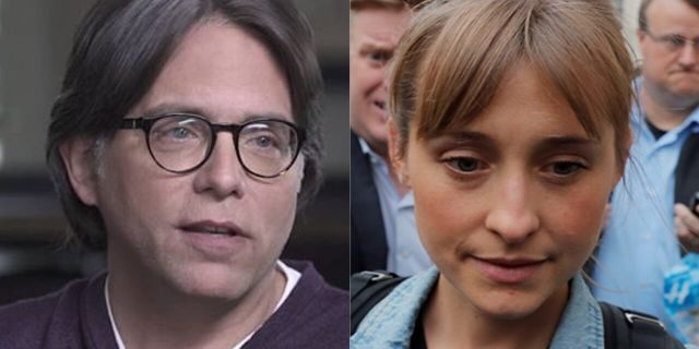 "Keith Raniere (left) and his accused sidekick, ""Smallville"" actress Allison Mack, will be the subjects of a Lifetime made-for-TV film centered on their NXIVM sex cult, the network says."