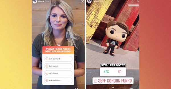 Nascar Used Instagram's Shopping Sticker to Drive Its New Line of Funko Pop Figurines – Adweek