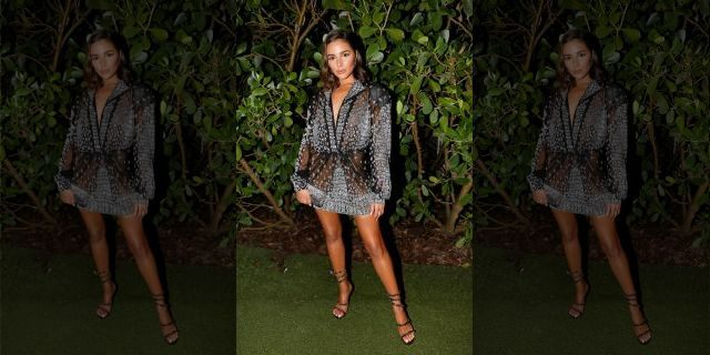 Olivia Culpo attends Legends Spirits Celebrates The Swim Week Kick-Off Party Hosted by W South Beach x Sports Illustrated at W Hotel on July 12, 2019 in Miami, Florida.(Photo by Aaron Davidson/Getty Images for Legends Spirits)